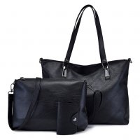 H1025 - Retro 3pc Handbag Set