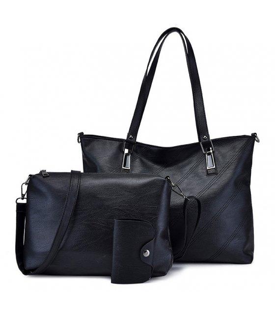 H1025 - Retro 3pc Handbag Set
