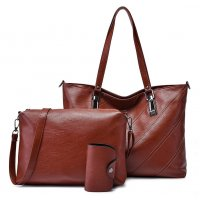 H1026 - Retro 3pc Handbag Set