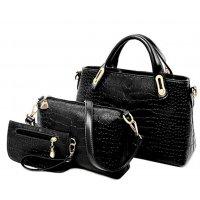 H1030 - American Diagonal Shoulder Handbag Set