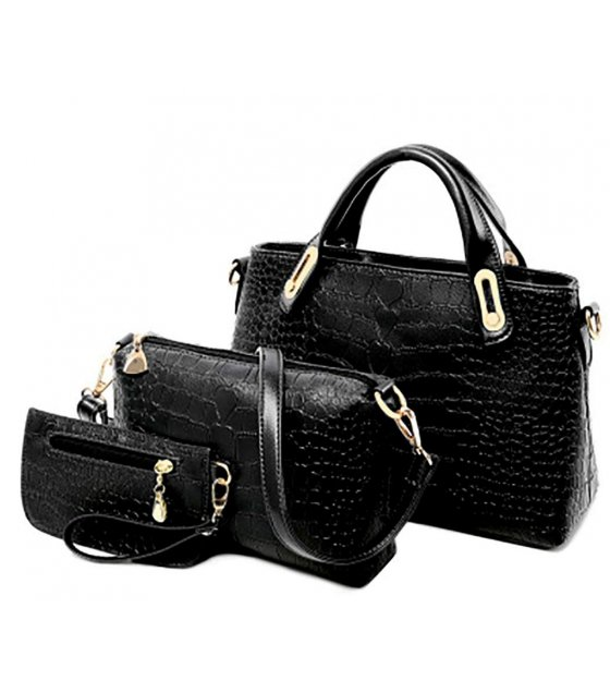 H1030 - American Diagonal Shoulder Handbag Set