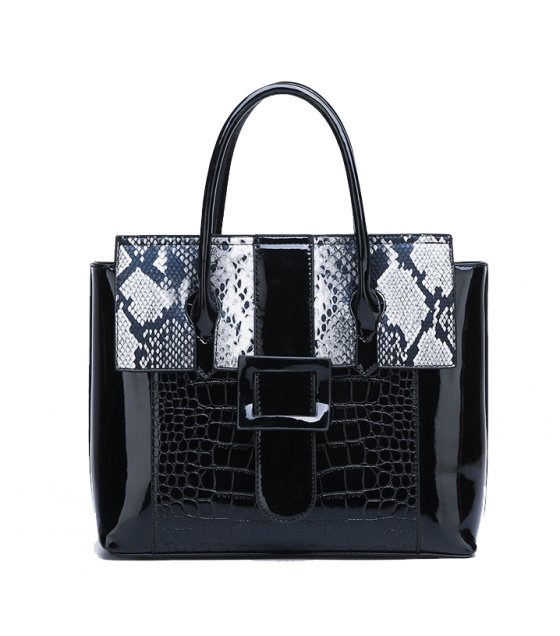 H1037 - Luxury Glossy Shoulder Bag