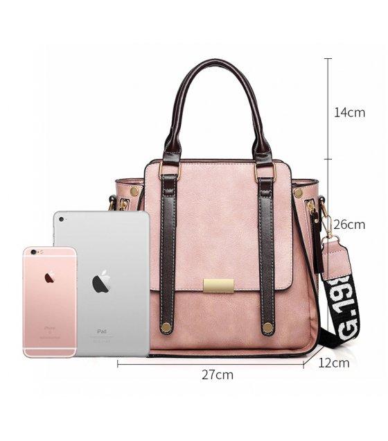 H1044 - Korean Fashion Wild Messenger Bag Set