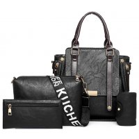 H1046 - Korean Fashion Wild Messenger Bag Set