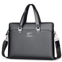 H1050 - Men's Briefcase Cross Shoulder Bag