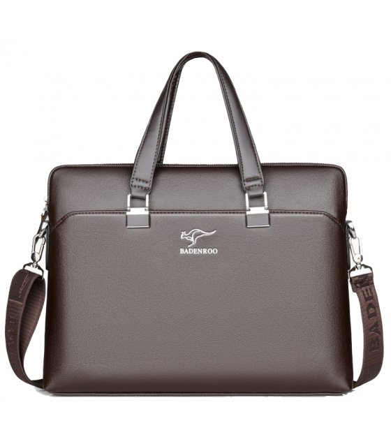 H1051 - Men's Briefcase Cross Shoulder Bag