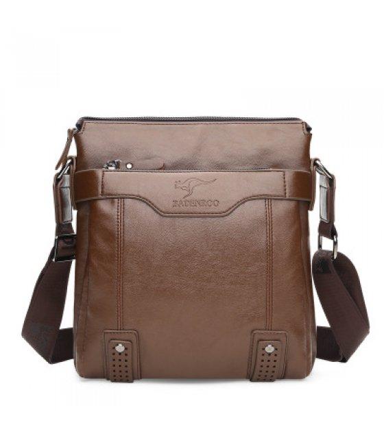 H1054 - Kangaroo Men's Diagonal Casual Shoulder Bag
