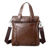 H1058 - Kangaroo briefcase vertical Messenger bag