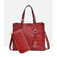 H1062 - Crocodile pattern Fashion Shoulder Bag