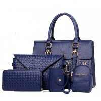 H1069 - Diagonal Fashion Shoulder Handbag Set
