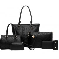 H1076 - Korean women's handbag Set