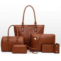 H1077 - Korean women's handbag Set