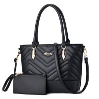 H1095 - PU leather fashion Women's Shoulder Bag