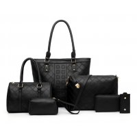 H1144 - Six-piece Korean Women's Handbag Set