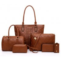 H1145 - Six-piece Korean Women's Handbag Set