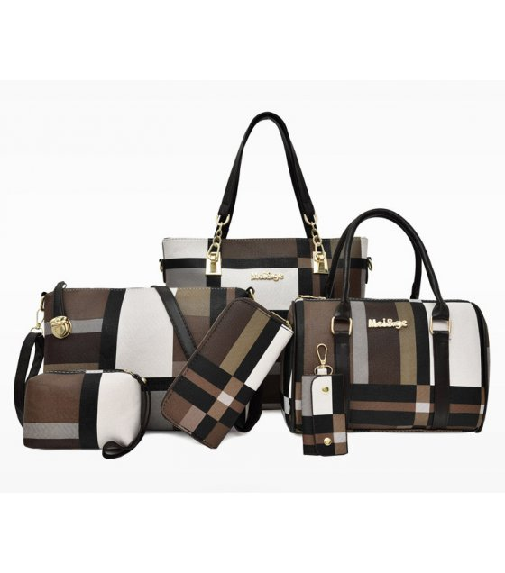 H1150 - Six-piece Korean Handbag Set