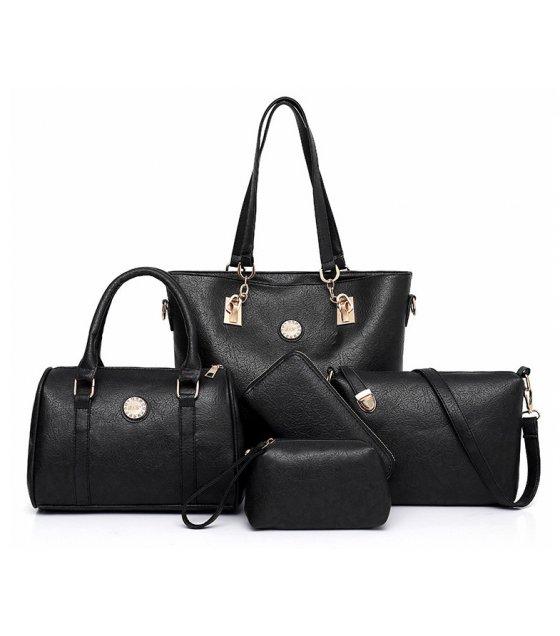 H1156  - Five Piece Korean Simple Handbag Set