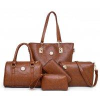 H1157 - Five Piece Korean Simple Handbag Set
