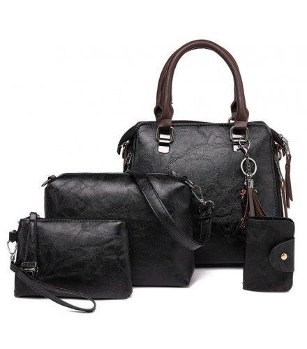 H1168 - Four Piece Diagonal Shoulder Bag