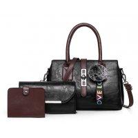 H1181 - Three Piece Fashion Shoulder Messenger Bag