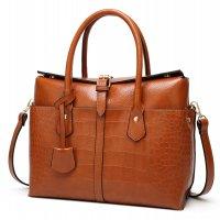H1188 - Crocodile pattern handbag