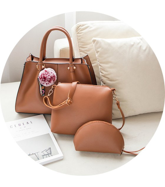 H1196 - Korean Casual Shoulder Handbag