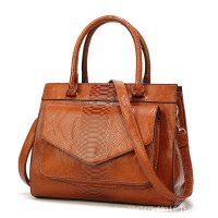 H1203 - Snake Pattern Ladies Handbag