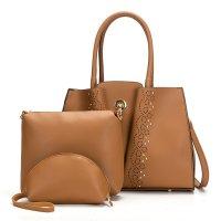 H1207 - Elegant temperament ladies rivet shoulder bag