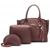 H1209 - Korean 3 Piece Handbag Set