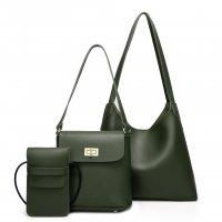 H1215 - Fashion simple Cross body Handbag Set