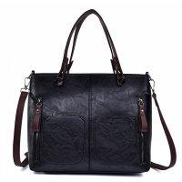 H1226 - Korean Simple Retro Wild Zipper Messenger Bag