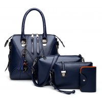 H1233 - Korean Simple Shoulder Handbag Set