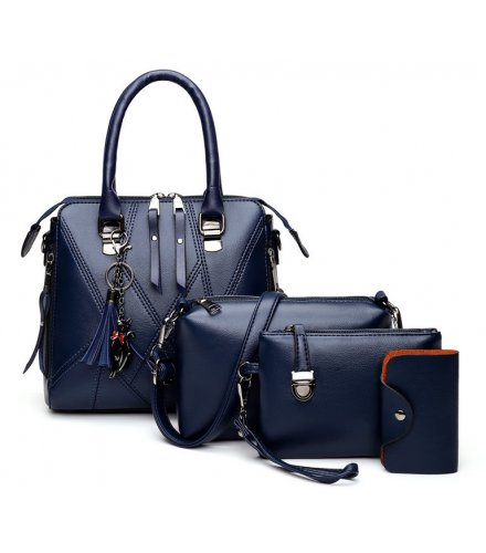 H1233 - Korean Simple Shoulder Handbag Set