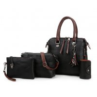 H1257 - Korean Shoulder Messenger Bag Set