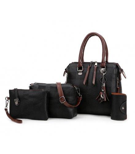 H1257 - Korean Shoulder Messenger Bag Set