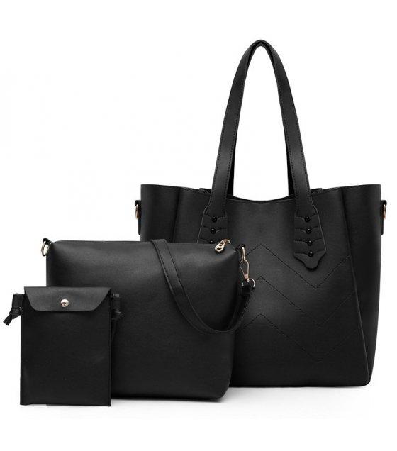 H1265 - Fashion Three Piece Handbag Set
