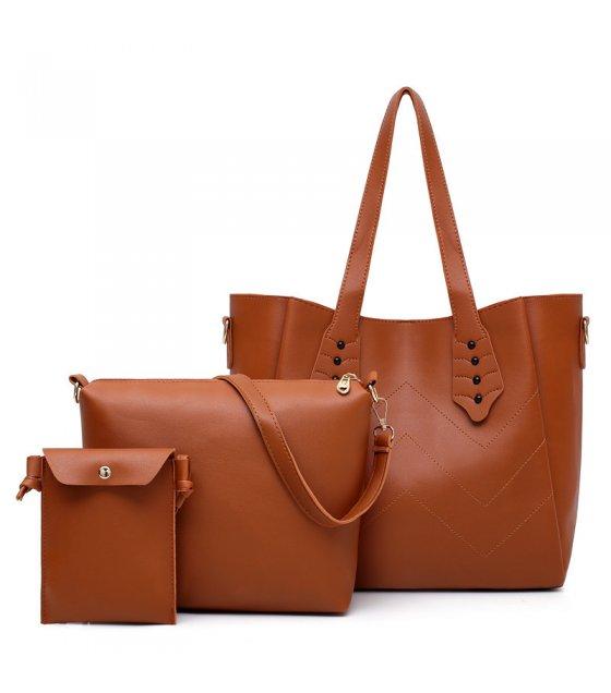 H1266 - Fashion Three Piece Handbag Set