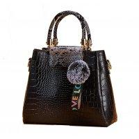 H1268 - Crocodile pattern Handbag Set