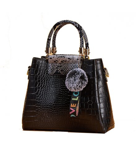 H1268 - Crocodile pattern Handbag Set