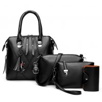 H1281 - Korean Simple Shoulder Handbag Set