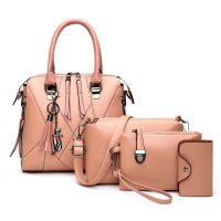 H1282 - Korean Simple Shoulder Handbag Set