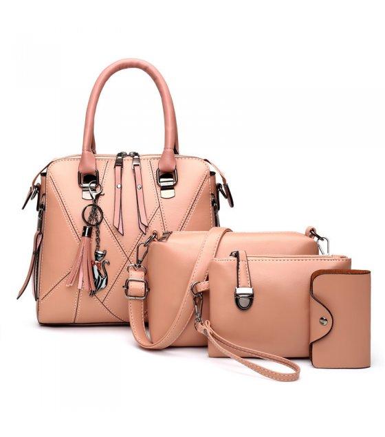 H1282 - Korean Simple Shoulder Handbag Set