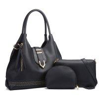 H1297 - Three Piece Fashion Handbag Set