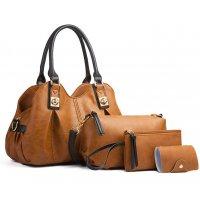 H1298 - Fashion Four Piece Shoulder Bag