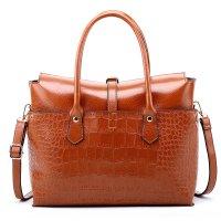 H1321 - Fashion crocodile pattern single-shoulder Handbag