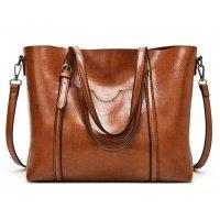 H1326 - Oil Wax Leather Handbag