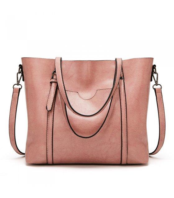 H1327 - Oil Wax Leather Handbag