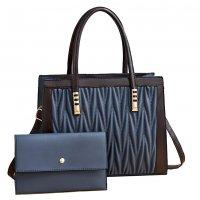 H1342 - Diamond Cushioned Shoulder Bag Set