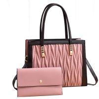 H1345 - Diamond Cushioned Shoulder Bag Set
