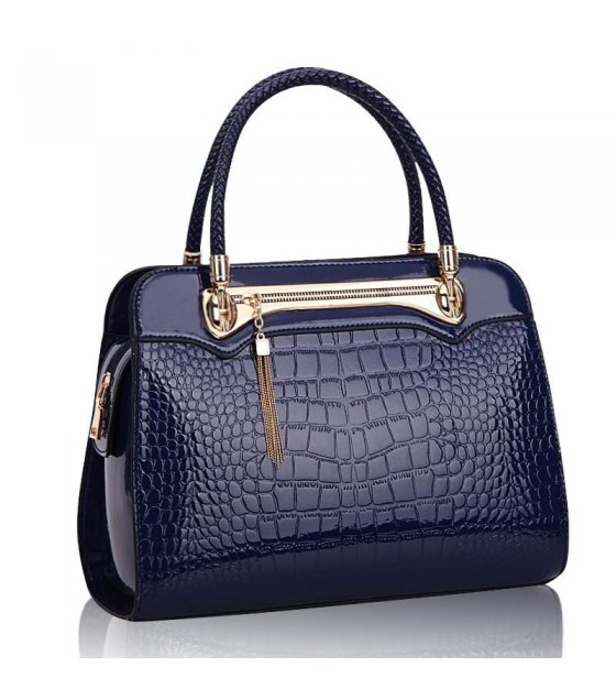 H281 - Luxury Blue Handbag